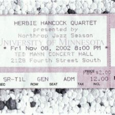 Herbie Hancock in Minneapolis: Looking forward into the past