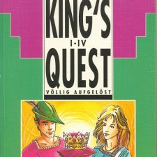 [Buch] Dieter Müller & Matthias Feist: King's Quest I-IV – Völlig aufgelöst (1990)