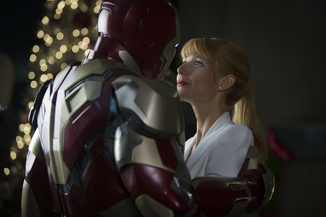"""Iron Man"" Tony Stark und seine Pepper Potts"